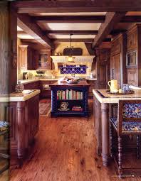 Mexican Style Kitchen Design Achieve Spanish Style Room By Room Wood Cabinets Style And
