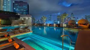 hotel outdoor pool. Swimming Pool - Night View Hotel Outdoor