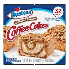 If you grew up loving those little debbie cakes, then this one is for you. Hostess Cinnamon Streusel Coffee Cake 1 44oz 32pk Sam S Club