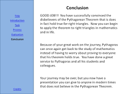 the pythagorean theorem webquest mathconn credits 14
