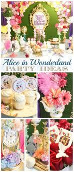 Alice In Wonderland Decorations 299 Best Alice In Wonderland Party Ideas Images On Pinterest