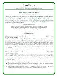 Teaching Resume Template Free Impressive Free Resume Templates For Teachers Best Teacher Resume Template