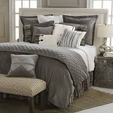 velvet bedding king. Delectably Yours Whistler Grey Velvet Bedding Set Accessories By HiEnd Accents Throughout King