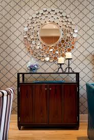 dining room wall decor with mirror. Stupendous Sunburst Mirror Wall Decor Decorating Ideas Gallery In Dining Room Contemporary Design With