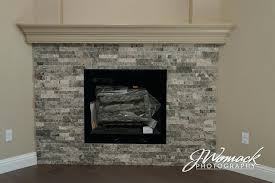 travertine fireplace hearth silver stacked stone travertine tile fireplace surround