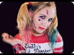 squad harley quinn makeup tutorial