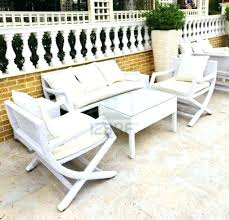 White Wicker Outdoor Furniture Perfect White Wicker Patio White