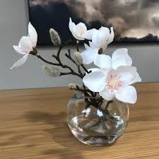 magnolia flowers in vase small flowers vase2