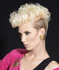 80s Hair Style short 80s retro hairstyle with tapered sides and back 7405 by wearticles.com