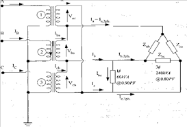 three single phase transformers are connected y Δ chegg com Single Phase Transformer Connection Diagrams question three single phase transformers are connected y Δ to provide power for a three phase Δ connecte single phase transformer wiring diagrams