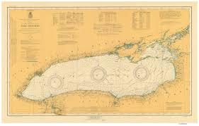 Ontario Nautical Charts Lake Ontario 1920 Old Map Nautical Chart Reprint Ls2