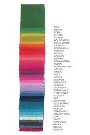 Kaleidoscope 2018 Yardage Color Names Chart Foundation