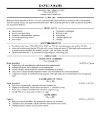 Retail Sales Associate Resume Classy Retail Sales Associate Resume Objective Canreklonecco