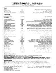 theater resume resume format pdf theater resume resume examplechild actor resume template this file audition resume format theater resume template