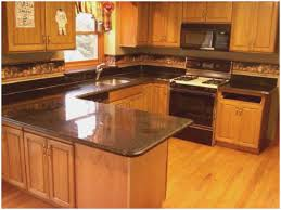 granite countertops with oak cabinets awesome honey oak kitchen cabinets with black countertops