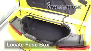 interior fuse box location 2016 2018 chevrolet camaro 2017  at 2017 Camaro Fuse Box Inside The Car Location