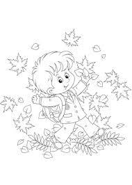 Herfst Kleurplaat Volwassenen Kleurplaat Herfst Download De