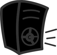 music speakers clipart. music speaker bass woofer subwoofer speakers clipart t