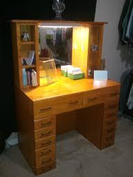 vanity table lighting. Vanity Table Lighting. Bedroom:furniture Varnished Oak Wooden Dresser With 14 Drawers Lighting