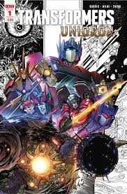 IDW Transformers: <b>Unicron</b> #1 & #2 Second <b>Printing</b> and Cover ...