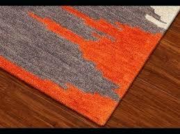 red orange rugs wonderful coffee tables burnt woven rug area pertaining