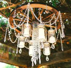 candle chandelier outdoor diy real lighting uk rustic