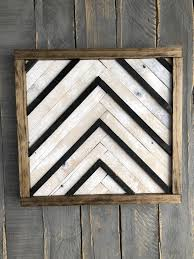 excited to share the latest addition to my reclaimed wood wall art