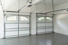 dual garage doors with openers