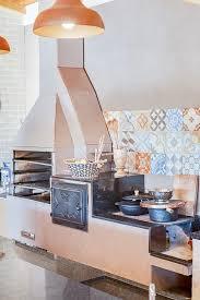 Como construir fogão de lenha e serpentina em 4 passos Area Gourmet Com Fogao A Lenha 57 Ideias Incriveis Para Seu Espaco