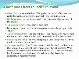 cause and effect essays 9