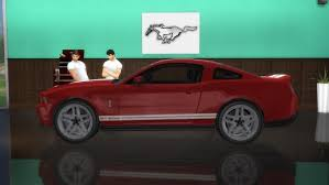 Ford Shelby Mustang GT500 at LorySims » Sims 4 Updates