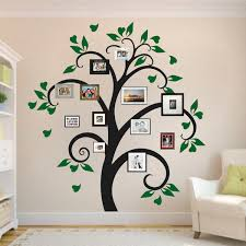 family tree frame decal design g wall designs with photos