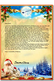 Christmas Letter Templates Free Printable Unique Letter From Santa