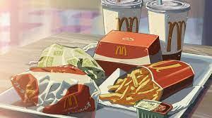 Aesthetic anime, Food drawing