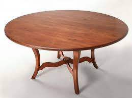 vintage 64 solid cherry round dining table
