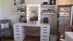 jaclyn hill just posted a makeup room tour on you battle station goals