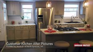 Bargain Outlet Kitchen Design Virtual 3d Stone Harbor Gray Kitchen Design By Doug B Of North Syracuse Ny