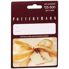 pottery barn gift card balance