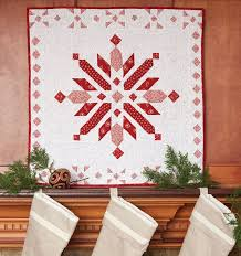 35 best Wall Quilts & Projects images on Pinterest | Crafts, Fiber ... & Northern Christmas Quilt - Fons & Porter Adamdwight.com
