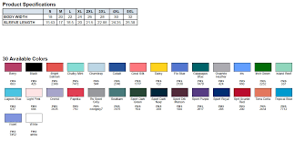 Gildan Hammer Size Chart