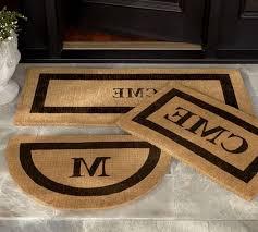 monogram outdoor rug