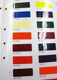 Ys Paint Color Chart The Velo Orange Blog New Polyvalent Color