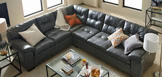 Sectional Sofas Couches City Furniture Leather Sectional Living