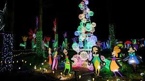 Silverton Oregon Garden Lights Christmas In The Garden Returns To Oregon Garden In