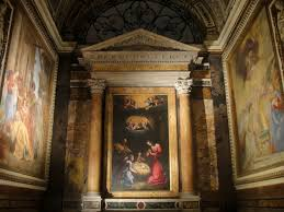 caravaggio painting at san luigi dei francesi church