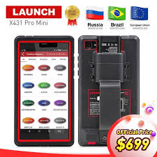 white <b>LAUNCH X431</b> Auto Diagnostic Tool Support WiFi/Bluetooth ...