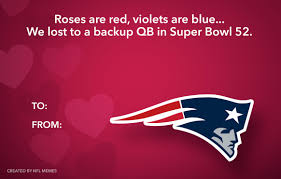 Here's This Year's Batch Of Hilarious Nfl-Themed Valentine's Day ...