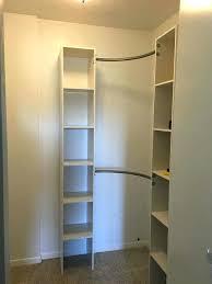 diy walk in closet organizer excellent closet design closet system plans