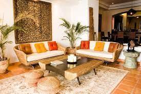 modern india inspired living room