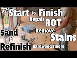 hardwood floors repair refinish and re diy home renovation